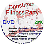 Конвенция Christmas Fitness Party DVD1 декабрь 2016